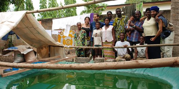 La culure familliale de spiruline fraîche au Togo