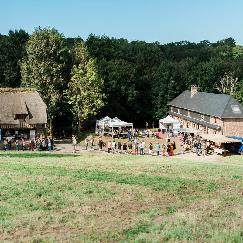 Eco-domaine de Bouquetot situé en Pays d'Auge