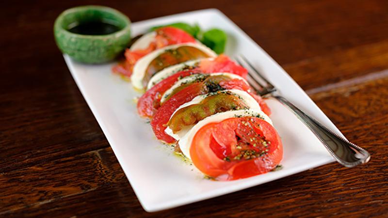 Tomates mozzarella spiruline et spirumix